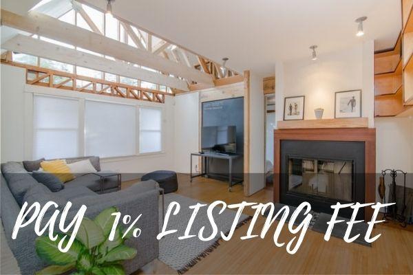 Pay a 1% listing fee